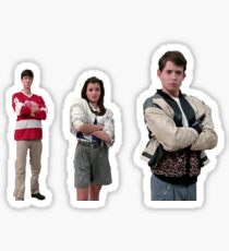 ferris bueller's day off - museum scene Sticker