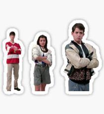 Ferris buellers freier Tag - Museumsszene Sticker