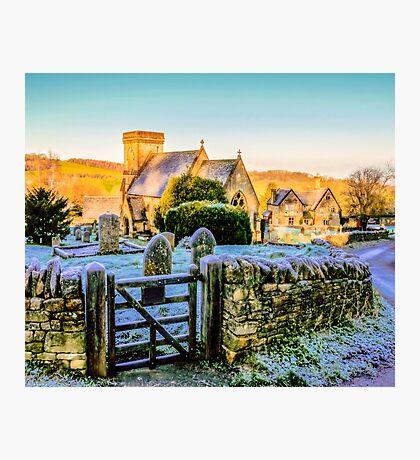 Snowshill View Photographic Print