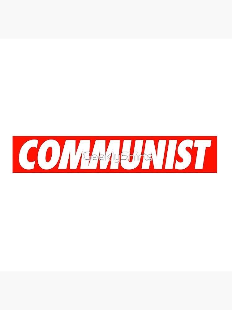 Kommunist - Hemd von GeeklyShirts