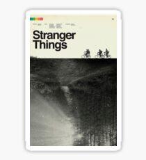 Stranger Things Polaroid Sticker