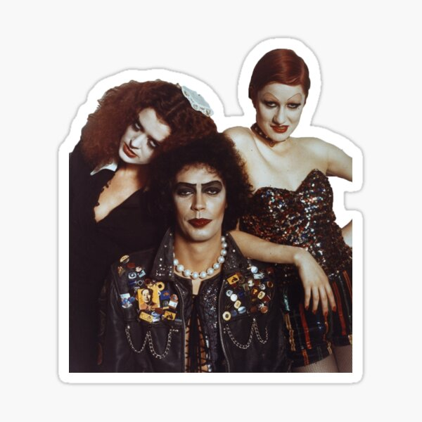 rocky horror picture show Sticker