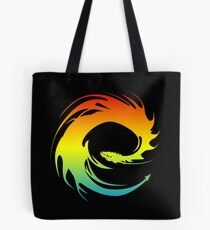 Colorful Eragon Tote Bag