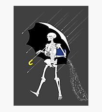 Morton Salt Skeleton Photographic Print