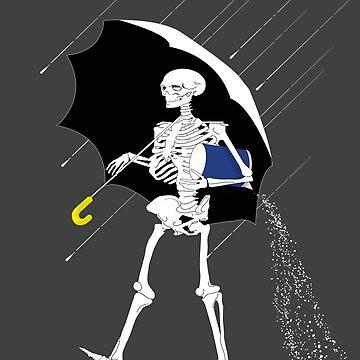 Morton Salt Skeleton by PixelGum