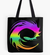 Colorful Eragon Dragon Tote Bag