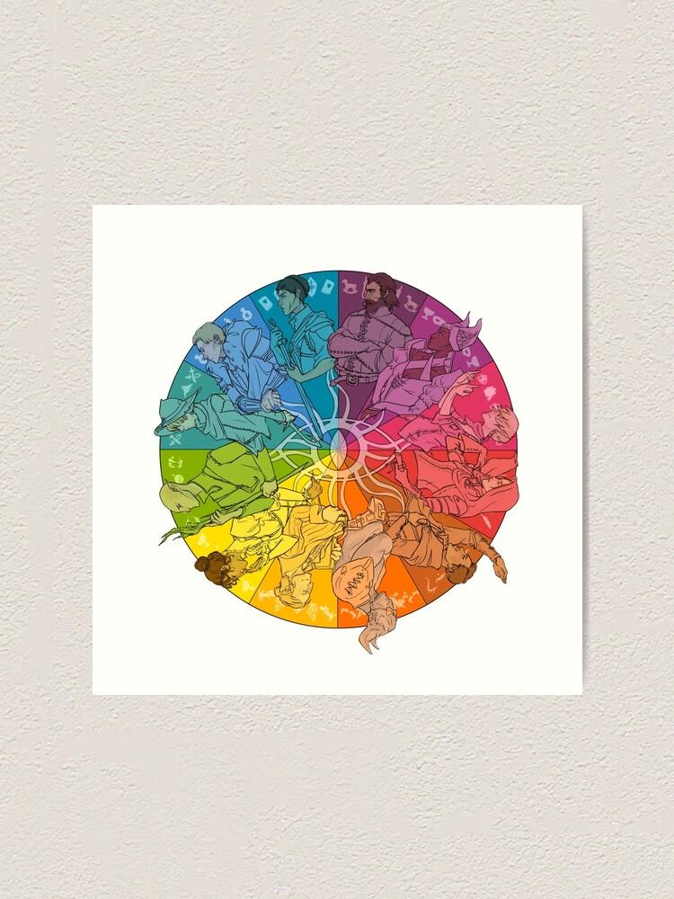 Alternate view of The Inner Circle Art Print