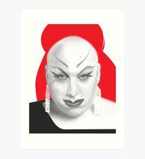 Queen of Filth Art Print