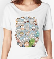 Rick and Morty - Outnumbered... Women's Relaxed Fit T-Shirt