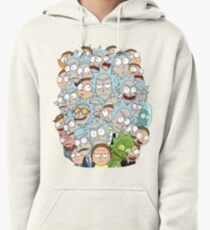 Rick and Morty - Outnumbered... Pullover Hoodie