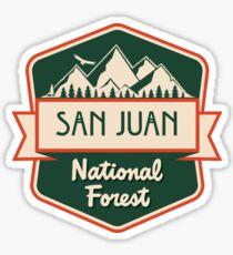 San Juan National Forest Sticker