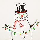 snowman sketch tall 0001 by thatstickerguy