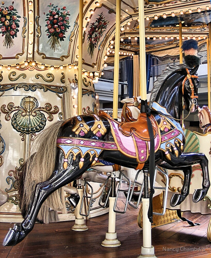 Carousel in Downtown Plaza by NancyC