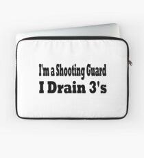 Funda para portátil Shooting Guard T Shirt - Camiseta divertida del baloncesto