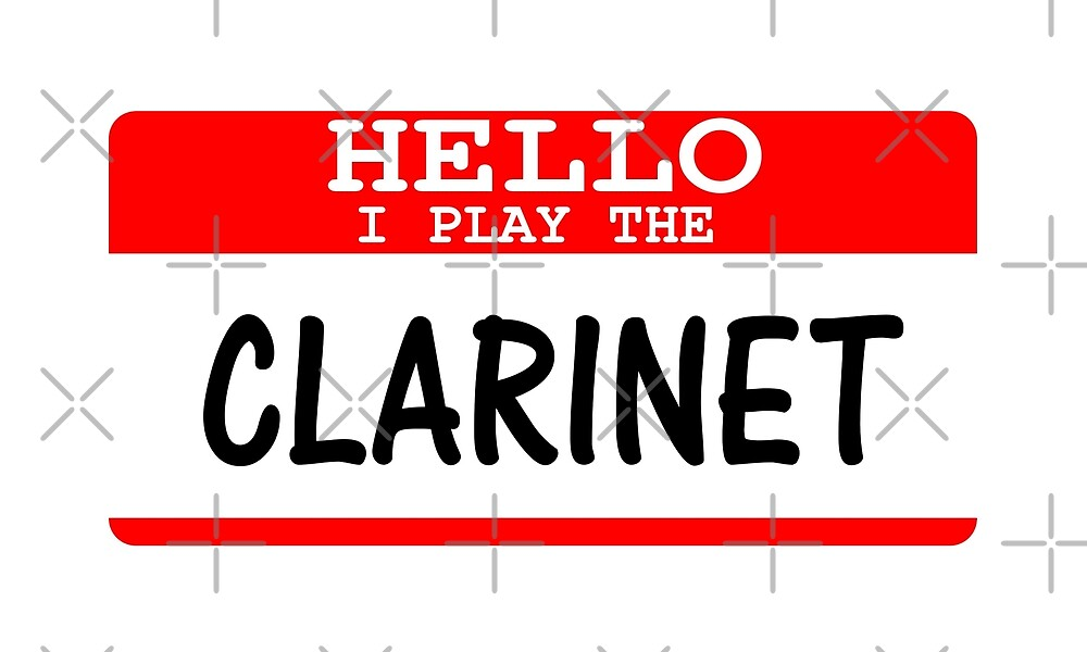 I Play Clarinet T Shirt - Funny Clarinet T Shirt by greatshirts