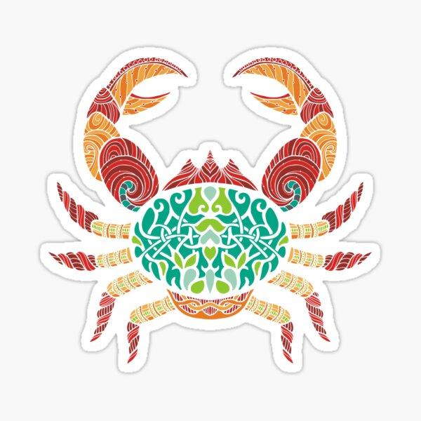 Cancer Zodiac T-Shirt Art Sticker