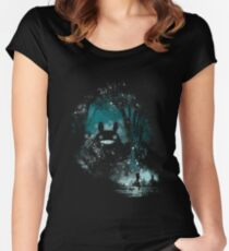 the big friend Women's Fitted Scoop T-Shirt