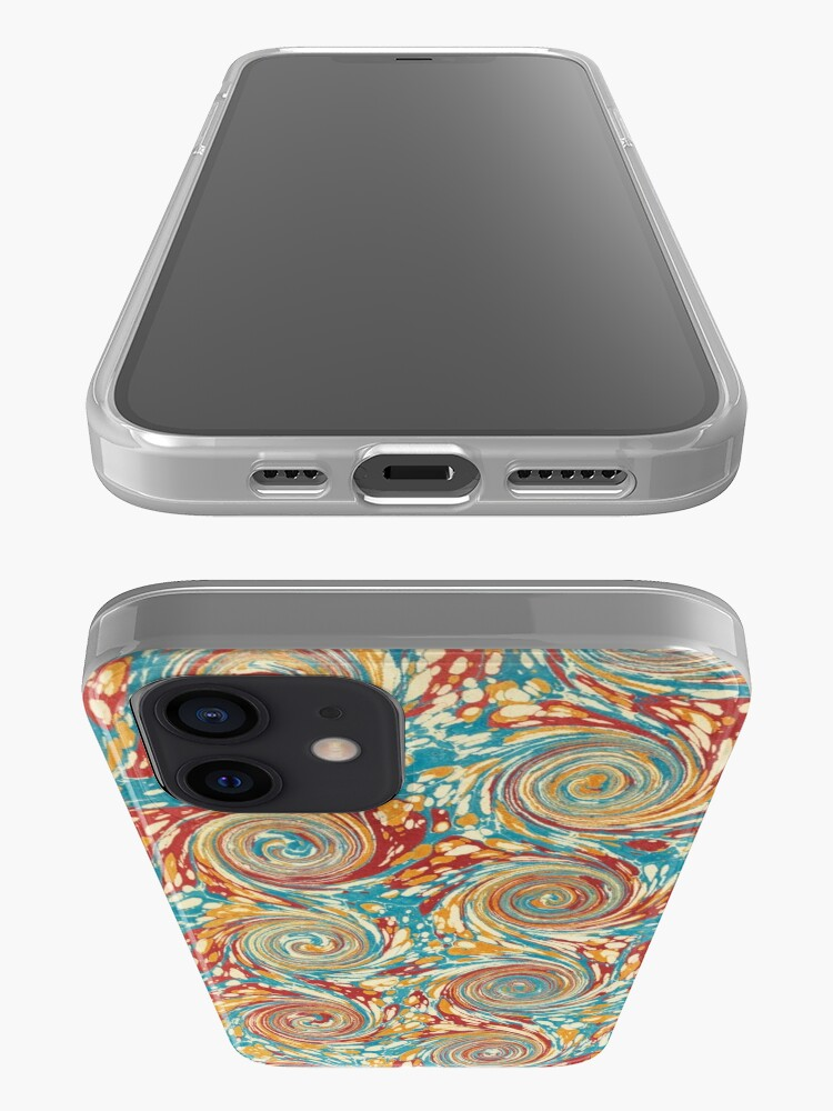 Alternate view of Book art: marbled endpapers – State Library Victoria iPhone Case & Cover