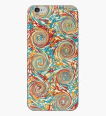 Book art: marbled endpapers – State Library Victoria iPhone Case