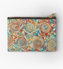 Book art: marbled endpapers – State Library Victoria Zipper Pouch