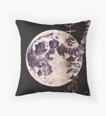 Eucalyptus Moon Throw Pillow
