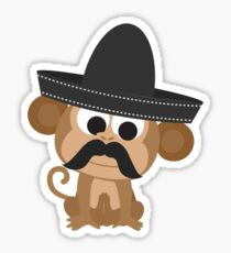 Monito Bandito Sticker