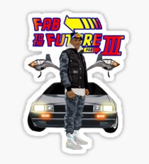 Fabolous Back To The Future III Sticker