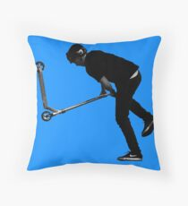 Tailwhipping - Stunt Scooter Move Throw Pillow