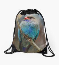Dollar Bird Drawstring Bag