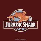 Jurassic Shark - Tear the Stethacanthus by bytesizetreas