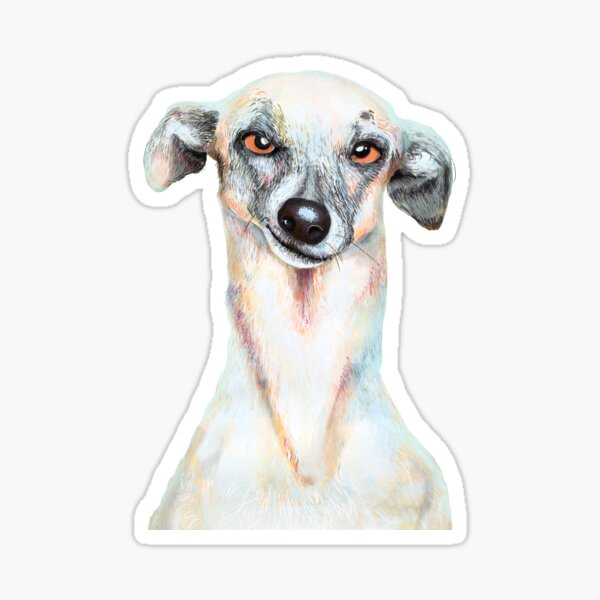 Just Dog Sticker