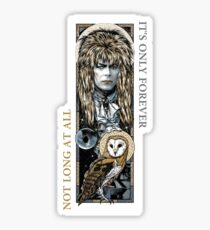 Labyrinth Collage Sticker
