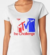 mtv challenge - not loose like night on day,n but tight Women's Premium T-Shirt