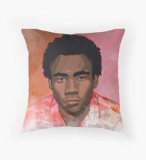 Childish Gambino Because the Internet T-Shirt Throw Pillow