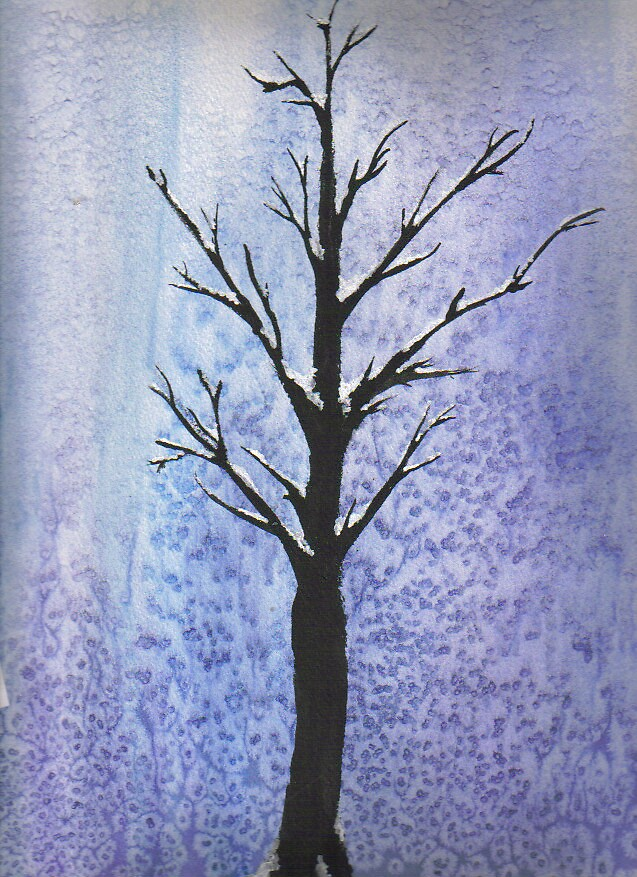 Tree in Winter by EtherealMe