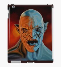 Azog The Orc Painting iPad Case/Skin
