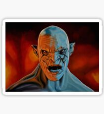 Azog The Orc Painting Sticker