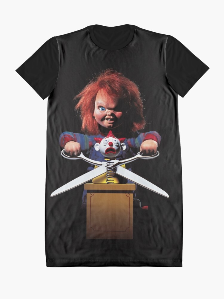 Alternate view of Child's Play - Chucky Graphic T-Shirt Dress