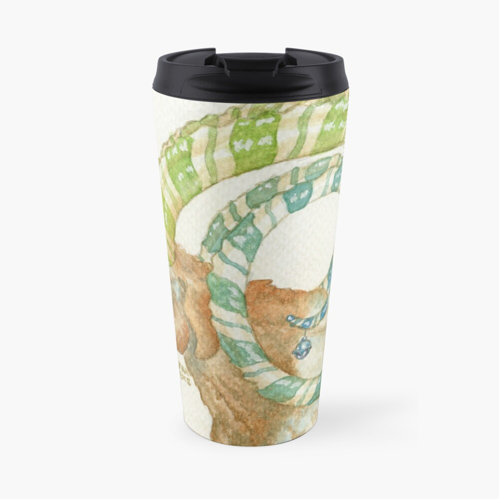 Magical Lucky Goat Travel Mug