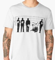 Assault Bike Police Lineup Men's Premium T-Shirt