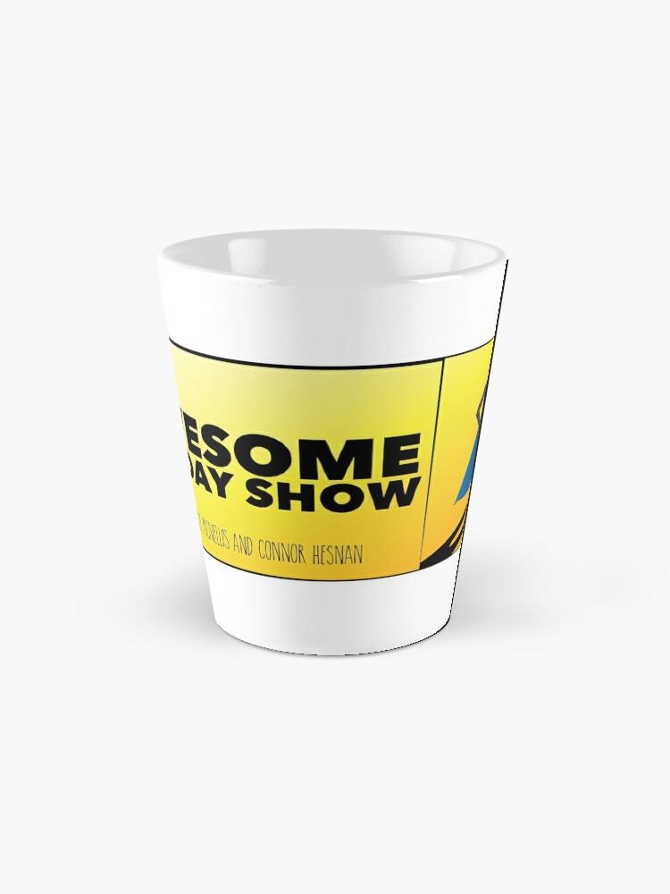 Alternate view of Podcast logo Tall Mug