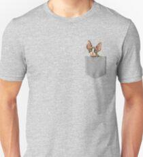 Sphynx In Pocket Unisex T-Shirt