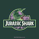 Jurassic Shark - Gnaw the Edestus Shark by bytesizetreas
