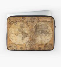 World Map 1736 Laptop Sleeve