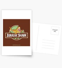 Jurassic Shark - Nosh the Helicoprion Postcards