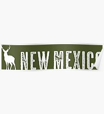 Deer: New Mexico Poster