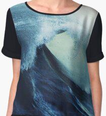 Blue Ocean wave energy Chiffon Top