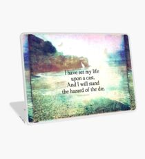 Shakespeare adventure travel quote Laptop Skin