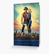 Crocodile Dundee II Greeting Card