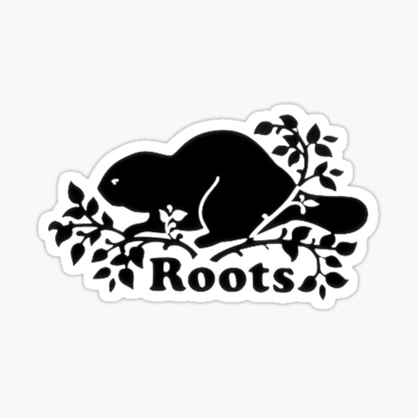 Roots Logo Sticker